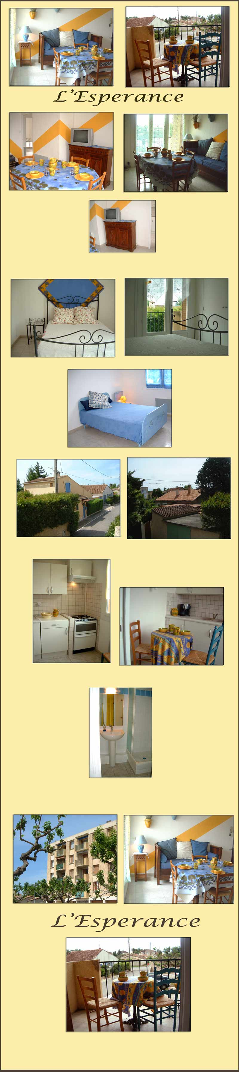 apartment rental Provence - Provence apartment with 2 bedrooms 2 balconies - great