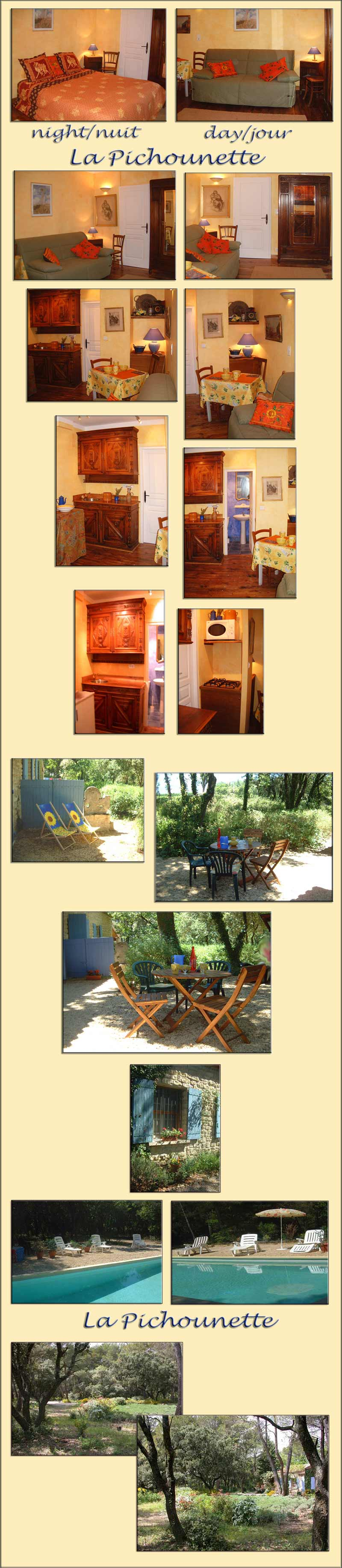 South of France holiday rentals, pool - large photos