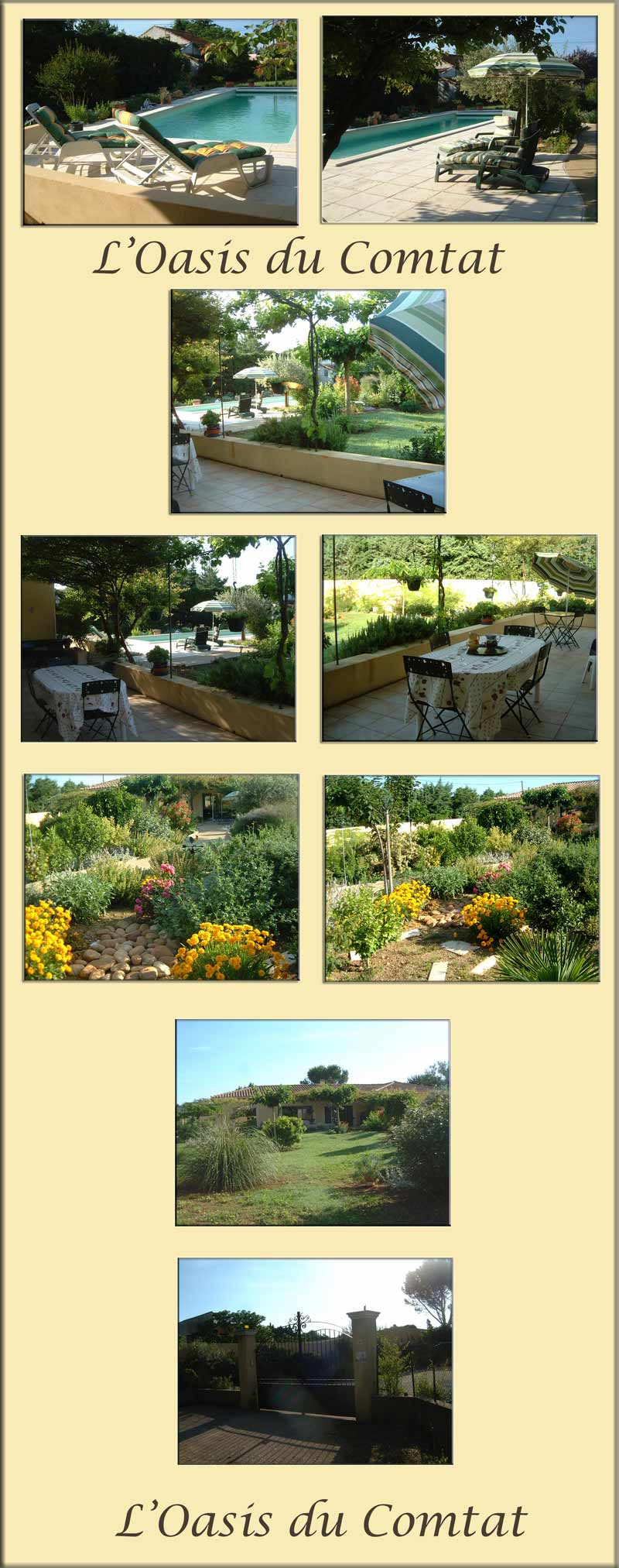 Luxury France Villa with Large Pool and Landscaped Garden. Private Fenced and Gated Property.