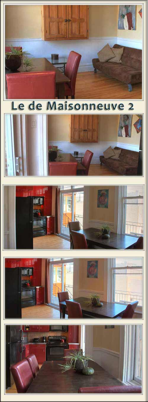 Montreal vacation rental apartments