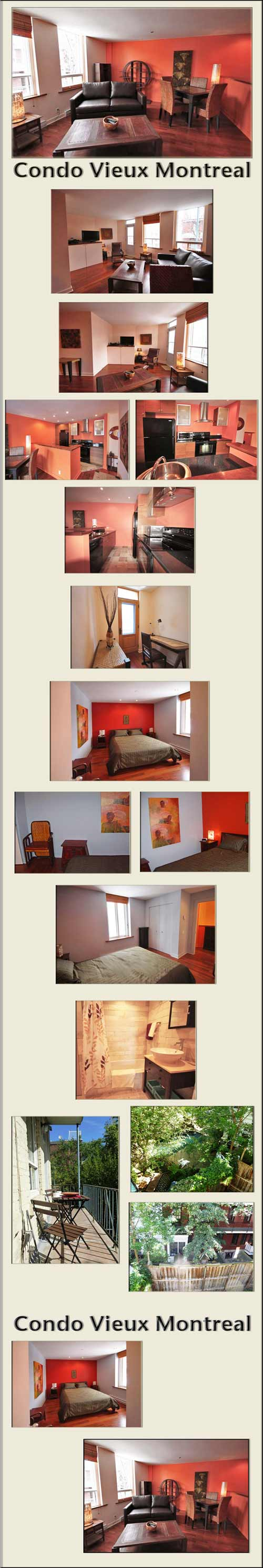 Montreal Canada vacation rental