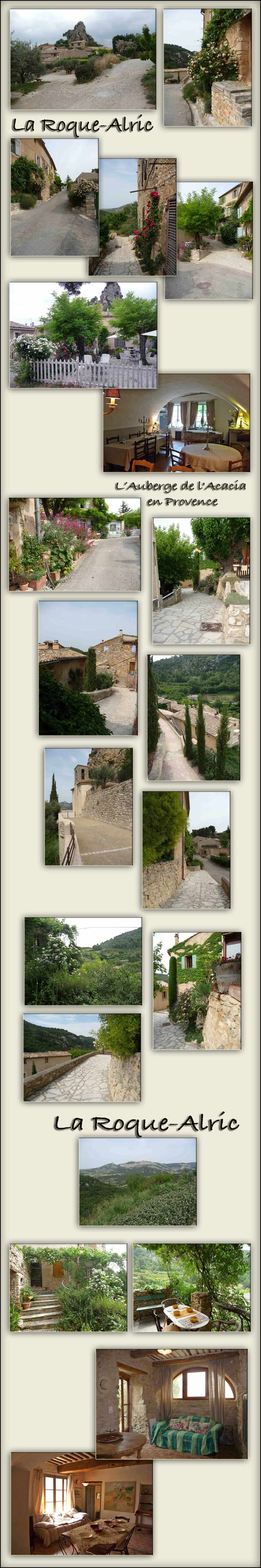 Provence travel - La Roque Alric