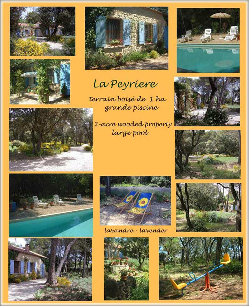 Provence villa, pool, air conditioning