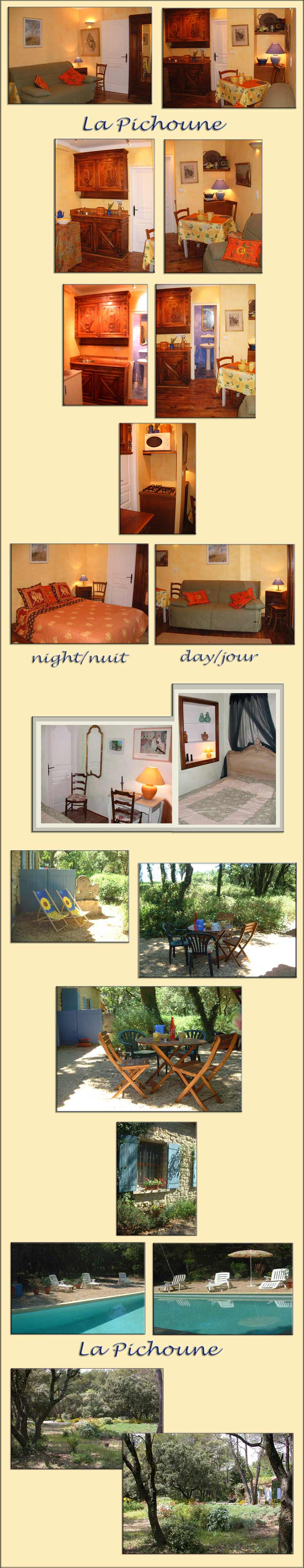 Provence villa rental, pool, near Mazan, Carpentras, Avignon, Mont Ventoux - large photos